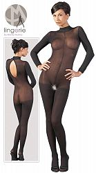Catsuit with Lace Collar XLXXL