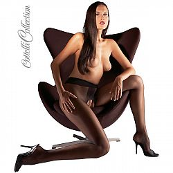 Crotchless Tights black L