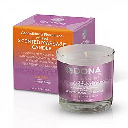 Dona - Scented Massage Candle Tropical Tease 225 ml