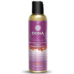 DONA Scented Tropical Tease - voňavý masážný olej (110ml)