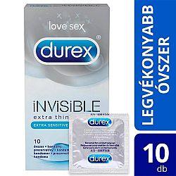 Durex Invisible – extra sensitívne kondómy (10ks)