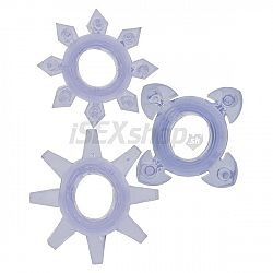 Erekční kroužky Tickle C-rings 3 kusy