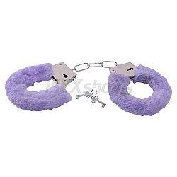Furry Handcuffs Purple