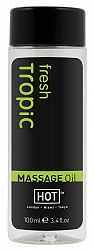 HOT masážny olej - čerstvý tropický (100 ml)