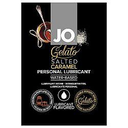 JO Gelato slaný karamel - lubrikačný gél na báze vody (10ml)
