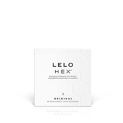LELO Hex Original - kondómy (3ks)