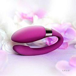 LELO Noa - silikónový párový vibrátor (fialový)