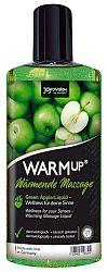 Masážny olej so zahrievacím účinkom - zelené jablko (150 ml)