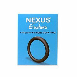 Nexus Enduro - silikónový krúžok na penis (čierny)