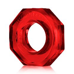 OXBALLS Humpballs - extra silný krúžok na penis (červený)