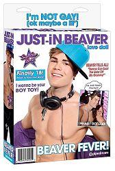 Pipedream Just-iN Beaver - nafukovací muž