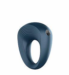 Satisfyer Ring 2 - vodotesný akumulátorový krúžok na penis (sivý)