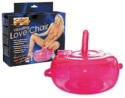 Vibračná sedačka lásky - ružová
