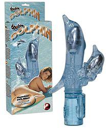 You2Toys Double Dolphin - vibrátor s ramenom na klitoris