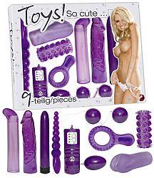 You2Toys So Cute - sada erotických pomôcok (9 dielna)